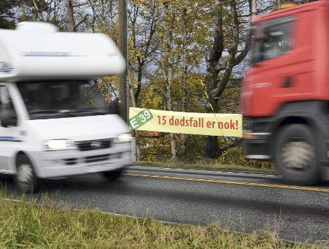 Kampen for å få bygget ny vei mellom Vågsbotn og Nordhordlandsbroen har støtt på en fartshump.