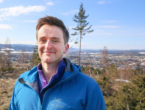 SER TIL MODUM: Gorm Berggren, salgs- og markedssjef i Partum Eiendom, ønsker å satse på flere boligprosjekter i Modum.