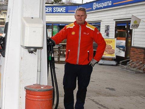 FÅR PENGER: Arnfinn Stake har søkt om penger til Shell Noresund og får 300.000 kroner.
