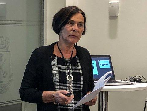 VIRKSOMHETSLEDER:  Elisabeth Futsæter Solberg leder nedbemanningsprosessen ved Introduksjonssenteret.