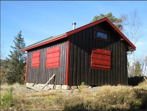 SPEIDERHYTTA: Dette hytta er svært populør å leie.