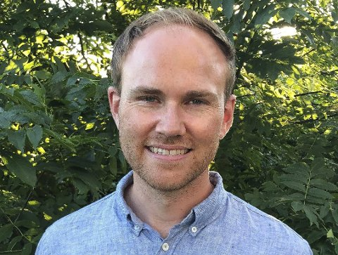 Andreas Madland Størdal er ordførerkandidat for Øvre Eiker Venstre