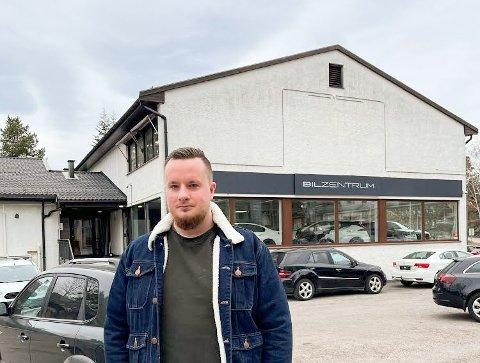 SKUFFET: Jonas Bergene Frantsen fra Strømmen hadde gledet seg til å kjøpe en BMW 3-serie diesel fra Bilzentrum på Sofiemyr.