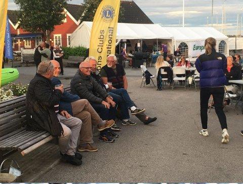 I GANG: Fredag kveld gikk startskuddet for årets havnefestival på Skjærhalden.