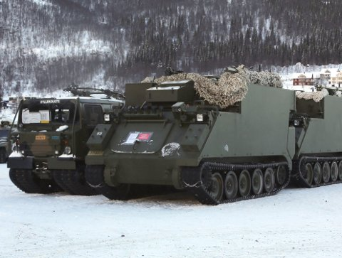 STOR JOBB: Når det gjøres klart til øvelsen Cold Response i mars, er det Narvik havn som har oppdraget med å ta imot 20.000 allierte soldater og nærmere 5.000 kjøretøy. Arkivfoto: Fritz Hansen