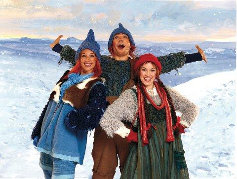 BLÅ JUL: Populære Jul i Blåfjell kjører to forestillinger i Bakkenteigen 8. desember.