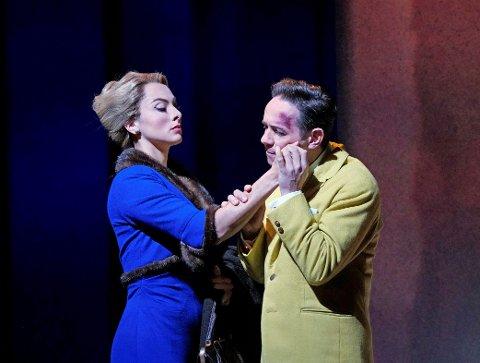 "OPERA-THRILLER: Fra Metropolitan Operas ""Marnie"", som vises i Lillehammer kino lørdag kveld."