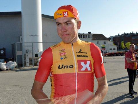 VANT I BELGIA: Erik Nordsæter (Lillehammer og Uno X) vant lørdag ungdomsutgaven av den belgiske sykkelklassikeren Omloop Het Nieuwsblad.