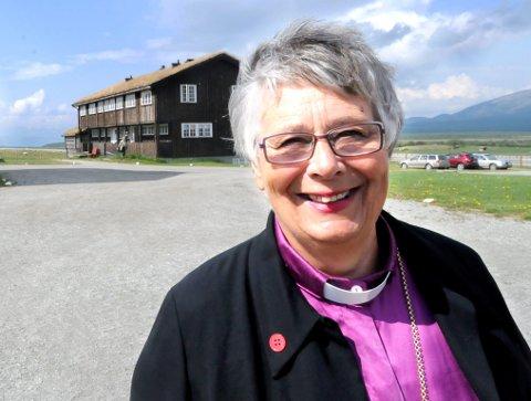 Oppgjør: Biskop Solveig Fiske møter motbør fra Frp.
