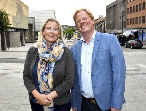 MAKT: Ingunn Trosholmen (Ap) og Oddvar Møllerløkken (H) søker ordførermakt i Lillehammer. Til hva?