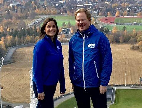 ALENEGANG: Høyre er mer alene enn noen gang tidligere i Lillehammer. Oddvar Møllerløkken fikk heller ikke med seg Sunniva Ihle Steinstad i formannsskapet.