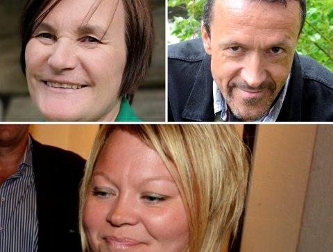 Troverdig?: Laila Skåden, Jon Halvor Midtmageli og Marthe Lang-Ree har ulike historier, og det er umulig å skille rett fra galt.