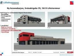 Den nye brannstasjonen i Lillehammer