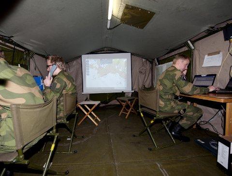 Hovedbase: Jørstadmoen skal fortsatt være hovedbase for cyberforsvaret.Foto: Torbjørn Olsen