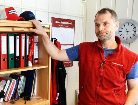 Knut Evensen er leder i Oppland sau og geit.