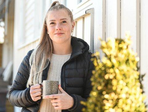 """GOD KARRIERE: Madelén Haug Hansen har vunnet SM-gull og blitt kåret til """"årets spiller"""" i Norge. Nå drømmer hun om å også få spille OL før karrieren legges på hylla om noen år."""