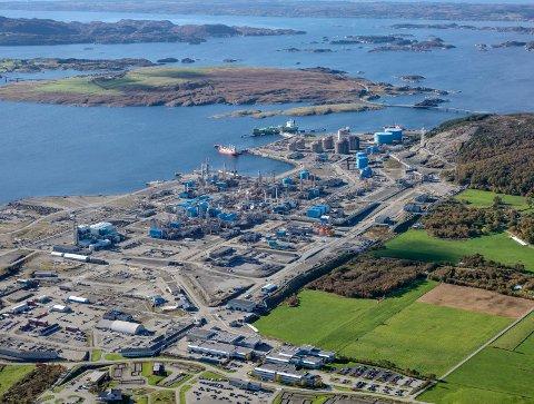 Gassterminalen på Kårstø. Foto: Markus Johansson, Bitmap/Statoil