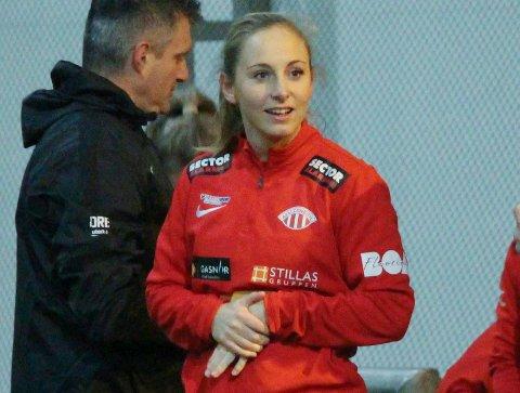 POSITIV TIL DAMELAG I FKH: Hanna Dahl.