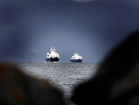 Sikkerheten på norske ferger er for dårlig, mener ansatte ifølge en ny rapport. Illustrasjonsfoto: Gorm Kallestad / NTB scanpix