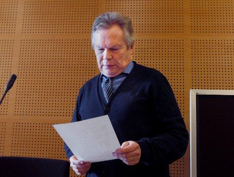 Ba om ett års fengsel:  Poltiadvokat Thor Bubergvar aktor i straffesaken mot den tiltalte moren.