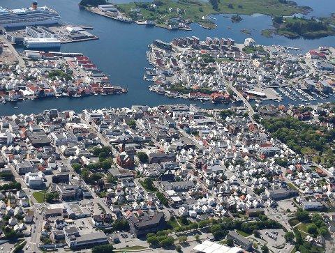 SMITTE: Ingen nye smittede i Haugesund søndag.
