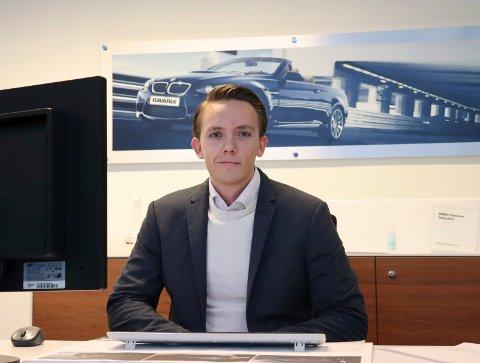 PÅ JOBB: Stein Erik Kvamen mistet sin gamle jobb i sommer. Få måneder senere fikk han drømmejobben.