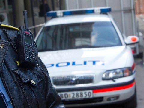 MERKELIG: Politiet stoppet en bil i Sandnessjøen.