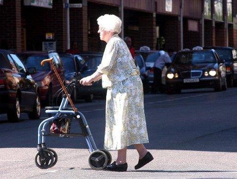 VOKSER: Antall pensjonister vokser mest på Vega.