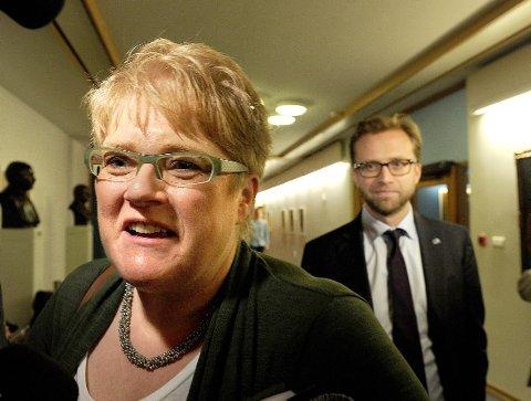 Kulturminister Trine Skei Grande (V). kommer til Vefsn  tirsdag kveld for å delta i det store museumsmøtet i Mosjøen.