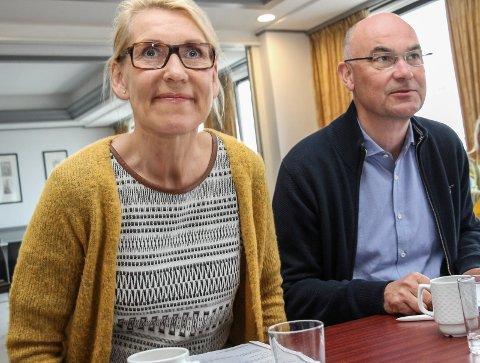 Styreleder Dag Hårstad mener  administrerende direktør Hulda Gunnlaugsdóttir har et godt grep om prosessen.