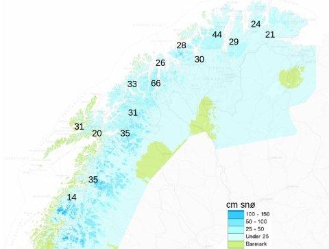 MILDVÆR: Varmegrader og nedbør kan gi underkjølt regn og glatte veier de kommende dagene.