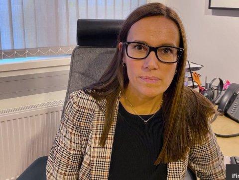 REAGERER: Ordfører i Hammerfest, Marianne Sivertsen Næss reagerer på Harstad sitt forsøk på å sikre seg driftsorganisasjonen til Wisting.