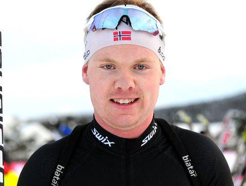 Martin Femsteinvik gikk til topps i Jolarennet i langrenn på Korlevoll andre juledag.