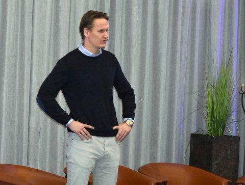 Hans Jørgen Mørland, administrerende direktør hos Scala Eiendom, sier at Kongsberg er et sted de har tro på på, blant annet på grunn av politikernes røde tråd med å holde detaljhandelen i sentrum.