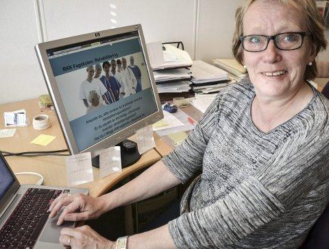 Studierektor: G. Wibeche Pettersen i Lofoten studie- og høyskolesenter er likt rektor Søren F. Voie i Vest-Lofoten videregående skole positiv til etablering av Campus Lofoten. Foto: Karin P. Skarby