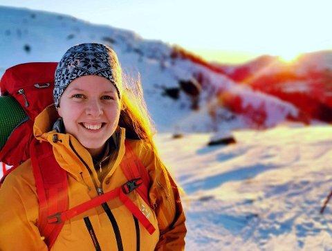 Elisabeth Sund er glad i naturen og det å gå tur.