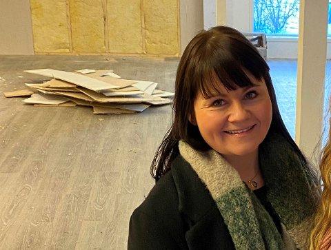 NY BEDRIFT: 35-årige Anja Holthe er blant namdalingene som etablerte eget foretak i mars.