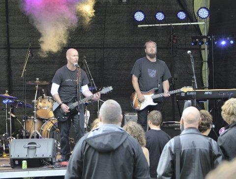 Flesk & Fløyel: Har vært med på Rock Høyenhall siden starten, og spiller stort sett bare denne ene gangen per år. FOTO: Lars Ole Ørjasæter