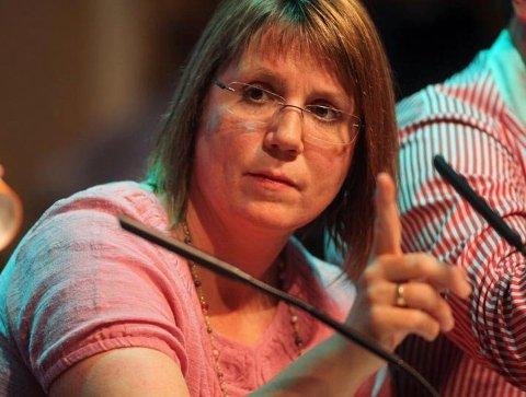 ADVARER: Helga Marie Bjerke frykter konsekvensene av kutt i sosialhjelp for store barnefamilier i Tromsø.