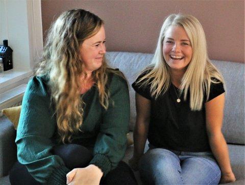 FØRSTE GANG PÅ TV: Trine Lynghaug (27) (t.v.) og Christina Rebekka Eriksen (28) er et av makkerparene i høstens andre sesong av NRK-serien 113.