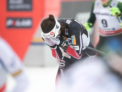 Oberstdorf, Tyskland 20180104. Heidi Weng i 10 km jaktstart  i Oberstdorf. Foto: Terje Pedersen / NTB scanpix