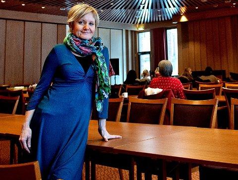 BYEN FÅR SIN FEST: Kultursjef Elisabeth Lund er opptatt av å samle hele Vestre Toten til byfest.