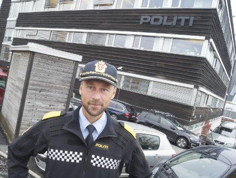 SJEFEN: Siden 2016 har Steven Hasseldal vært politimester ved Øst Politidistrikt. Innføringen og utføringen av den store nærpolitireformen er hans hovedoppgave.