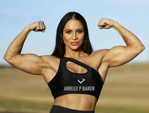 MARKERT KROPP: Fitness coachen får ukentlig meldinger av folk som vil se ut som henne.