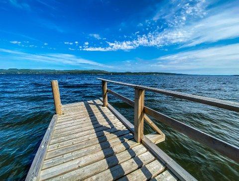 Temperaturen både i luften og sjøen er på vei oppover. Kanskje kan det friste med et forfriskende bad i løpet av uka?