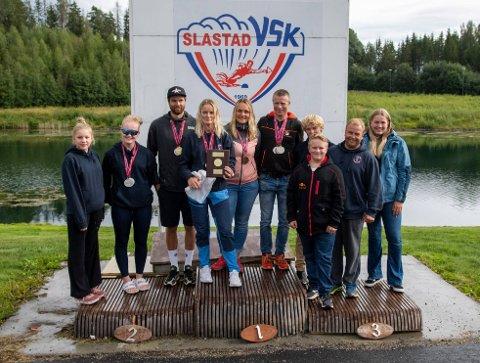 Beste klubb: Kvelde Vannskiklubb tok mange medaljer under helgens NM og ble igjen kåret til beste klubb i mesterskapet.