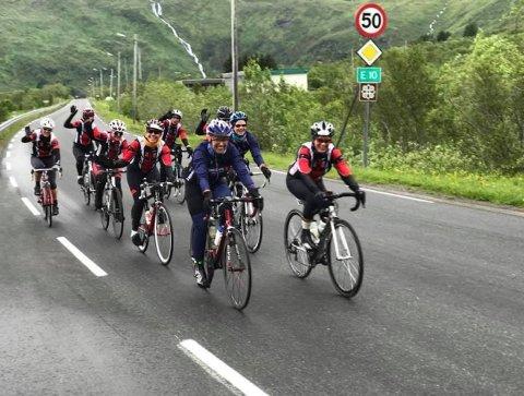 Med start for alle  ved Plalrsirkelsenteret håper Rana Sykkelklubb at mange flere vil ta sykkelturen ned til ACR.