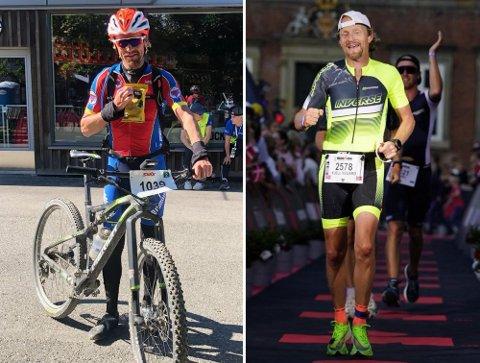 Sprek 50-åring: Kjell Vegard Opheim fra Brumunddal var med på Ironman København forrige uke. Lørdag var han med på Birkebeinerrittet.