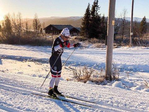 DRØMMER OM VM: Emil Sørgård fra Haugsbygd, satser alt på uttaksløpene til VM.