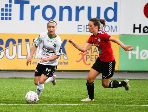 BANENS BESTE: Tanja Løfshus imponerte i sin første hjemmeopptreden for HBK.